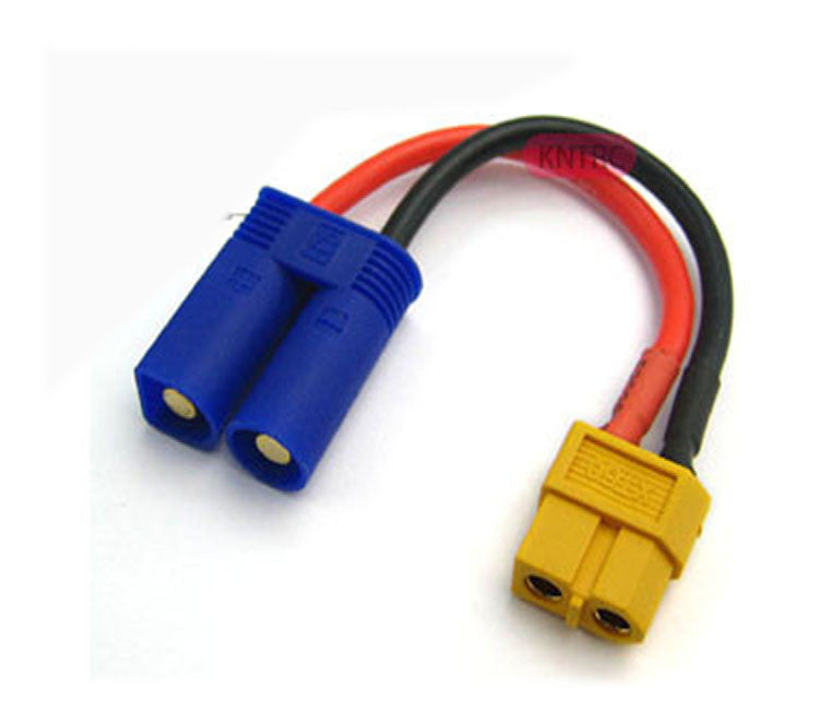 XT-60 Female To EC5 Male Adaptor 14#10cm