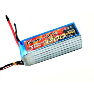 Gens ace 3700mAh 22.2V 60C 6S1P Lipo Battery Pack