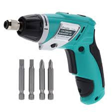 Pro'sKit PT-1361F Cordless Screwdriver 3.6V Electric Screwdriver Foldable Gun-shaped Screwdriver