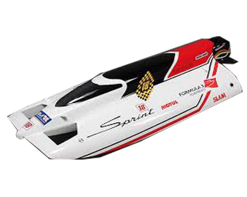 Sprint F3 Fiberglass Tunnel Hull Brushless Racing Boat