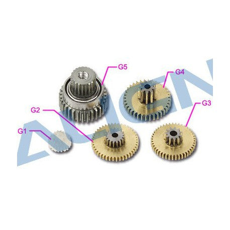 DS425M Servo Gear Set
