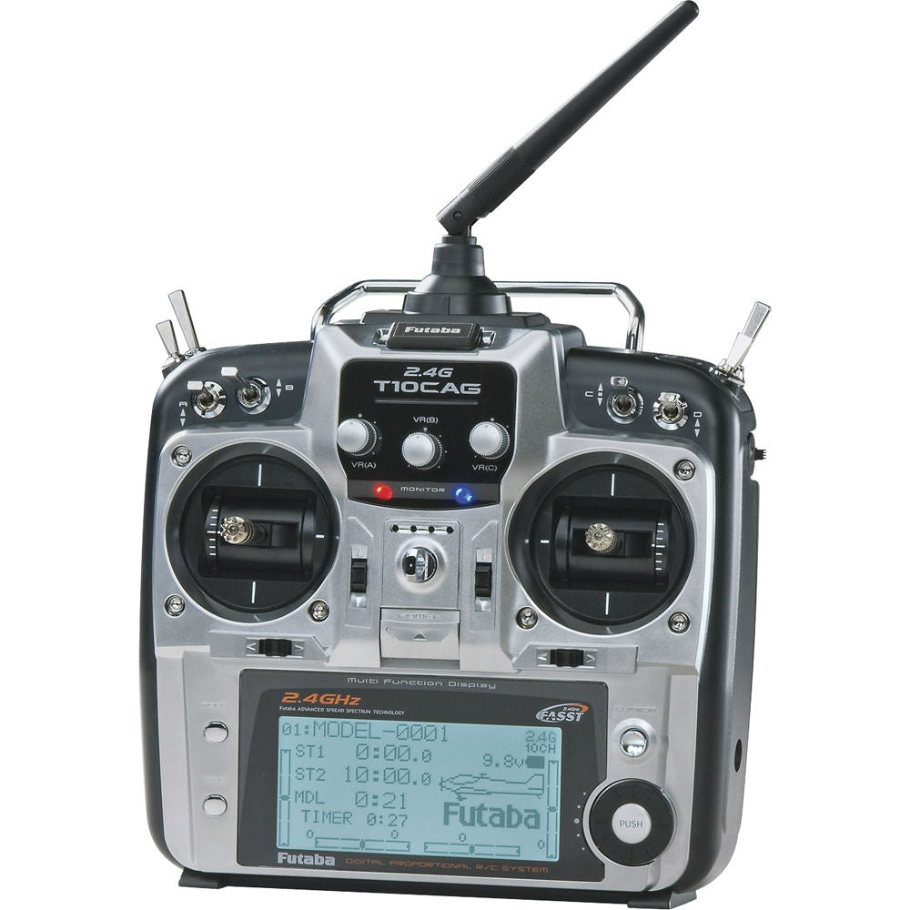 10CHG 2.4GHz Integrated R6014HS Heli Mode 2