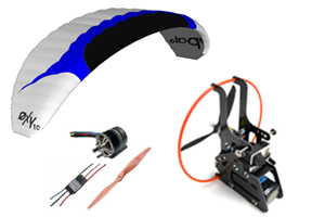 Paramotor Kit ARTF Backpack XS / OXY 1.0