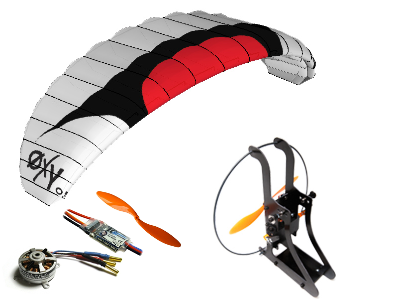 Paramotor Kit ARTF Backpack XXS/OXY 0.5