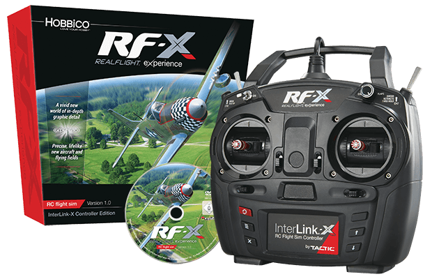RealFlight Rf-x Flight Simulator With Interlink-x
