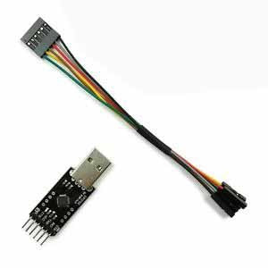 USB To TTL Converter Module For FT232 FTDI With 6P Dupont L