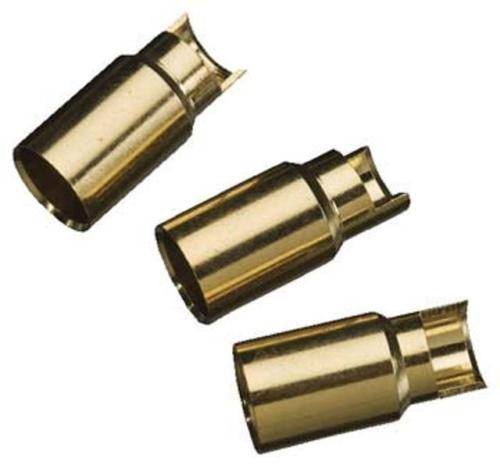 Gold Bullet Conn Female 6mm