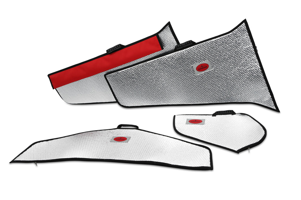 Viper 2,5m Wing Protection Bag Set Silver