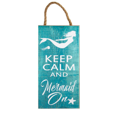 Mermaid On Sign