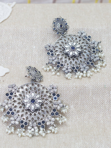 Long Earrings(blue)