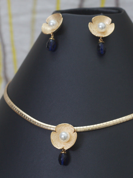 Trendy Necklace(Blue)