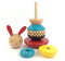 Petitcollage Wooden Rabbit Stacker Toy