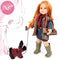 "Gotz Hannah Standing Doll 19.5"" - And Her Dog"