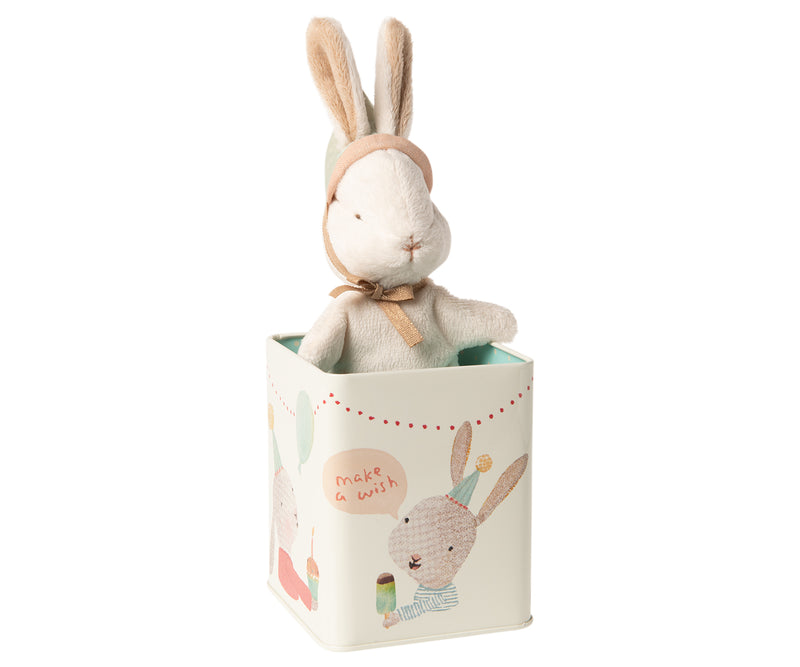 Maileg Happy Day Bunny in Box - Small