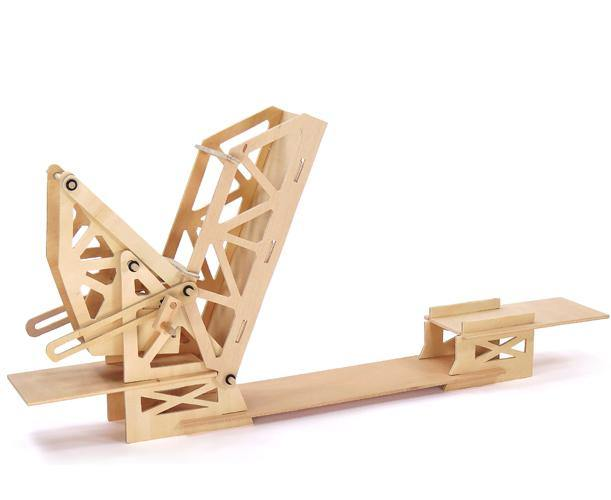 Building Kit - Strauss Trunnion Bridge - Simply Green Baby