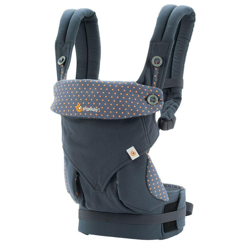 Ergobaby 360 Carrier - Dusty Blue - Simply Green Baby