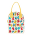 Fluf Organic Zipper Lunch Bag - Jelly Ghosts - Simply Green Baby