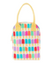 Fluf Organic Zipper Lunch Bag - Popsicle - Simply Green Baby