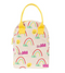Fluf Organic Zipper Lunch Bag - Rainbows - Simply Green Baby