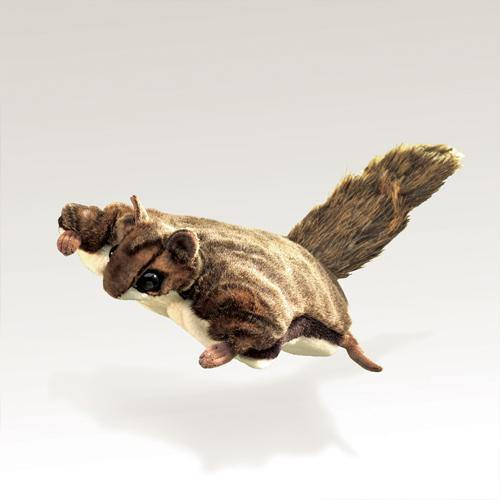Folkmanis Puppet - Flying Squirrel - Simply Green Baby