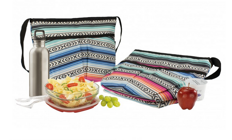 Freezable Carryall Lunch Bag - Fiesta - Simply Green Baby