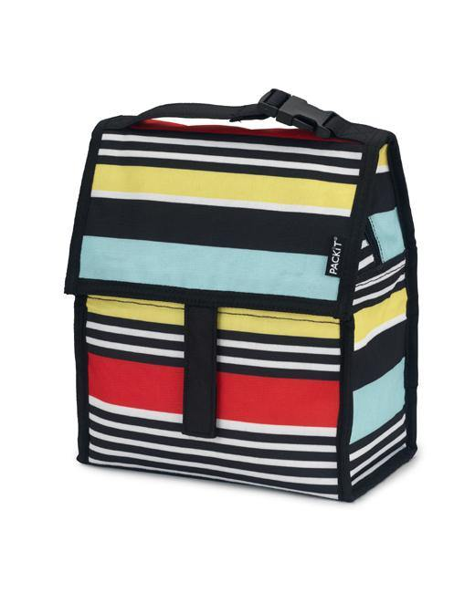 Freezable Lunch Bag - Surf Stripe - Simply Green Baby