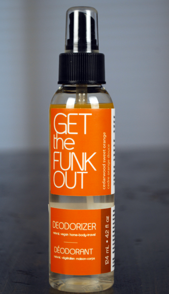 Get the Funk Out  F65 - Cedarwood Orange Spray, 4oz - Simply Green Baby
