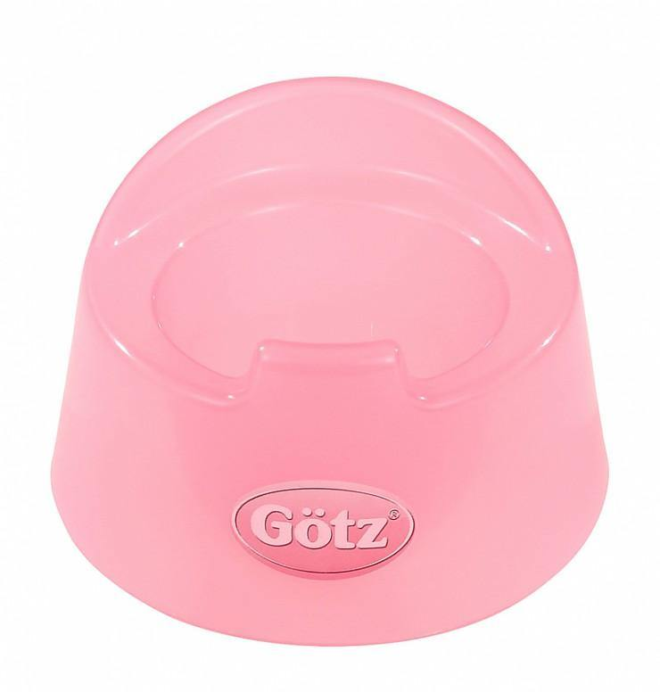 Gotz Doll Accessories - Potty Transparent Pink - Simply Green Baby