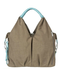 Green Label Neckline Bag - Taupe - Simply Green Baby