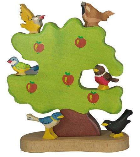 Holztiger - Apple Tree, For Birds - Simply Green Baby