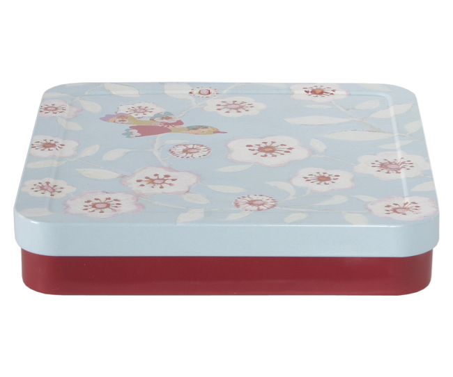 Maileg Flower Tin - Simply Green Baby