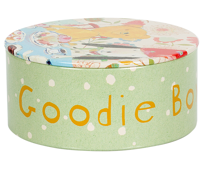 Maileg Goodie Tin - Simply Green Baby