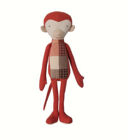 Maileg Monkey Rusti Red - Simply Green Baby