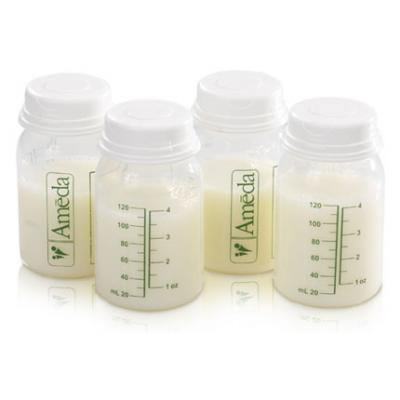 Milk Storage Bottles - Box of 4 - Simply Green Baby