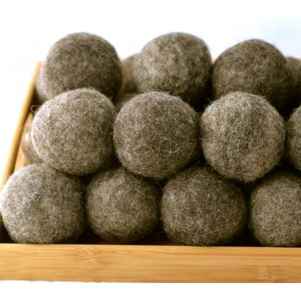 Moss Creed Pure Wool Dryer Balls Brown - Simply Green Baby