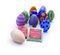 Natural Earth Paint - Wooden Eggs Craft Kit - Simply Green Baby