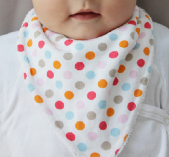 Organic Dribble Bib - Simply Green Baby