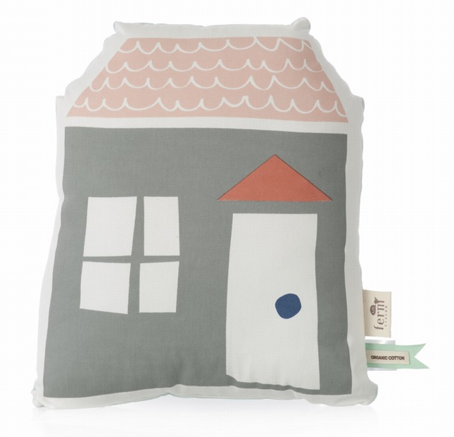 Pillow - Large Village - Simply Green Baby