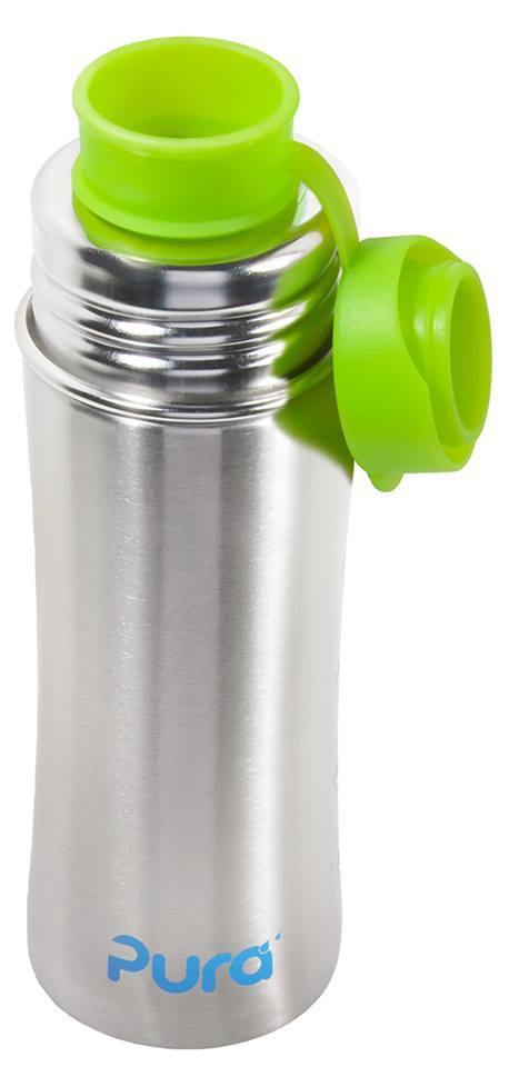 Pura Stainless Silicone Sport Top - Blue - Simply Green Baby