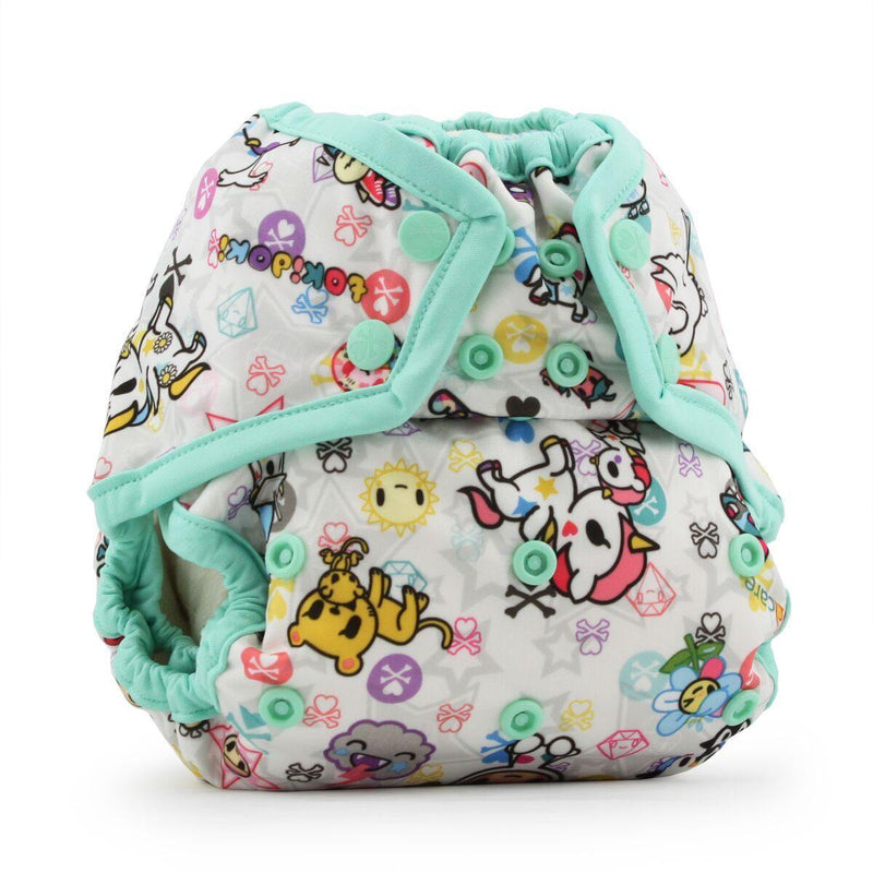 Rumparooz One Size Snap Cover - tokiBambino Sweet - Simply Green Baby
