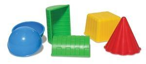 Sand Molds - Geometric Shapes - Simply Green Baby