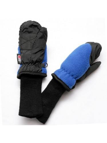 SnowStoppers® Waterproof Fleece Mittens - Royal Blue - Simply Green Baby