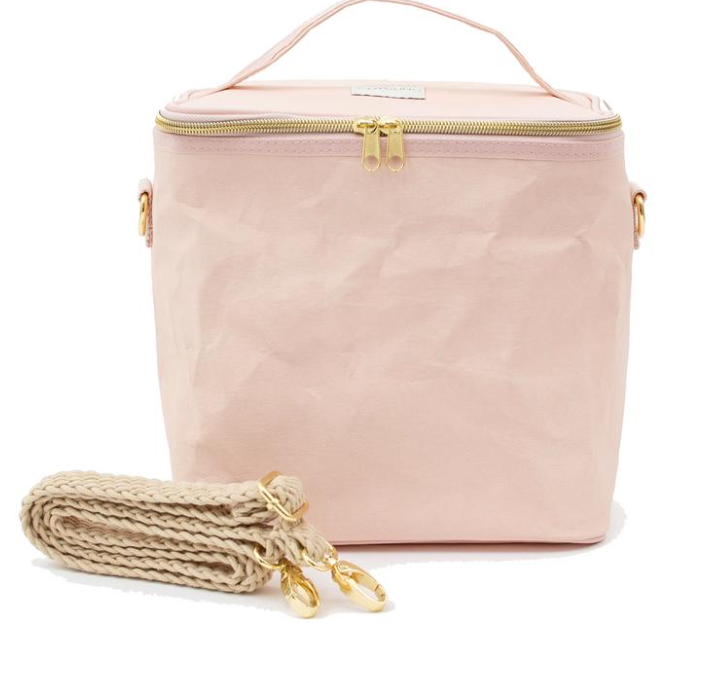 SoYoung Paper Lunch Poche - Blush Pink