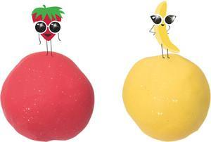 Tutti Frutti Sparkling Duo Banana + Strawberry - Simply Green Baby
