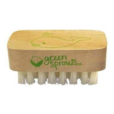 Wooden Nail Brush - Simply Green Baby