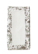 Woodland Changing Pad Cover - Simply Green Baby