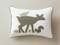 Woodland Pillow - Simply Green Baby