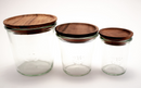 Weck Jars  Acacia Wood Lid