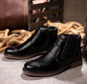 Merivale Mens Supple Leather Boots