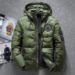 Down Parkas Thick Hooded Jacket